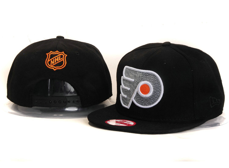 Philadelphia Flyers Black Snapback Hat YS